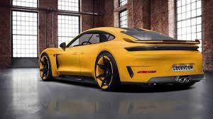 Certificat de conformité européen CoC Porsche