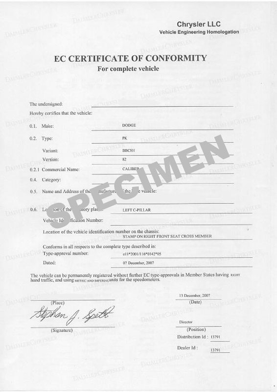 Comprendre à quoi sert le Certificat De Conformité
